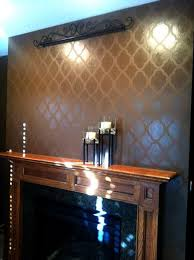 metallic paint for wallsCutting Edge Stencils Dont be a Bore use Metallic Wall Decor