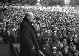 winston churchill secrets of great prime minister s speeches winston churchill addressing a crowd