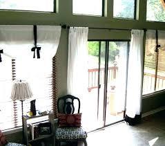 sliding glass door privacy valance valances for doors g gla
