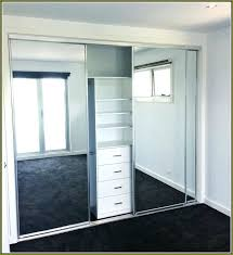 sliding mirror closet door best doors ideas on with