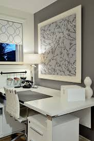 home office bulletin board ideas. Office Bulletin Board Ideas Home Office Contemporary With Roller Blind  Colour Blocking White Wall R