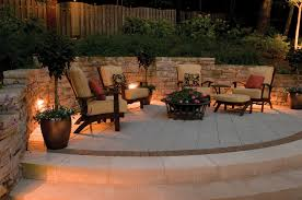 Outdoor Living Room Furniture For Your Patio This Beautifully Illuminated Outdoor Living Room Is Bathed In Rich