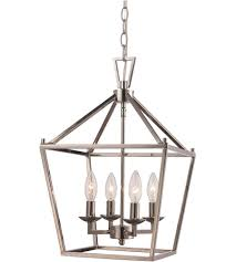 trans globe lighting 10264 pc lacey 4 light 12 inch polished chrome pendant ceiling light