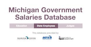Payroll Calculator Michigan Michigan Government Salaries Database Mackinac Center