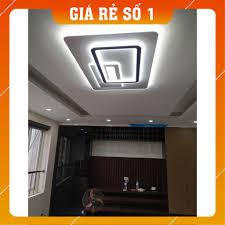 Đèn Ốp Trần, Đèn Phòng khách, Đèn LED Ốp Trần Hình Chữ Nhật ST LCN830, Có  điều khiển chiết áp- Bảo Hành 12 Tháng