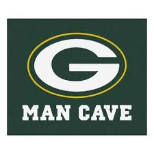 green bay packers green man cave 5 ft x 6 ft