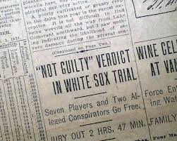 verdict in baseball s black sox trial com click image to enlarge 585586