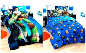 Teenage Mutant Ninja Turtle Bed Set Turtles Bedroom Sets Bedspreads ...