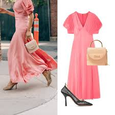 Light Old Rose Dress Aby Styling Cues Aimeesong Complement Michaelkors Antique