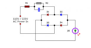 mains operated led circuit schematic eeweb community Led Circuit Diagrams mains operated led circuit diagram led circuits diagrams