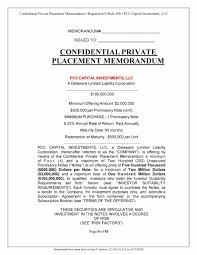 free memorandum template 40 private placement memorandum templates word pdf