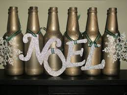 How To Decorate Beer Bottles Where's My Dream Life Upcycled Beer Bottle Christmas Decor 18