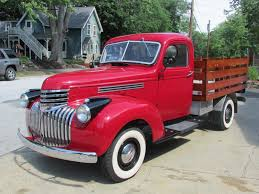 Auctions - 1946 Chevrolet Stake Body Truck   Owls Head ...