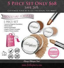 bellaphoria organic mineral makeup canada 100 pure natural