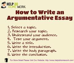 how to write an argumentative essay ly how to write an argumentative essay infographic