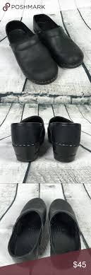 Dansko Black Clogs Size 37 Us 7 According To Danskos Size