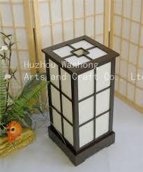 japanese style lighting. Japanese-style Handmade Wooden Lamps Japanese Style Lighting