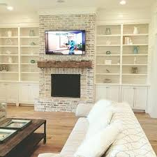 mounting tv in brick fireplace mounting into brick fireplace red ditch mantle above flat screen over