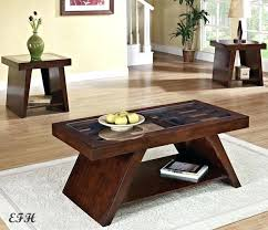 cherry wood coffee table sets new glass top dark brown cherry finish wood coffee end coffee