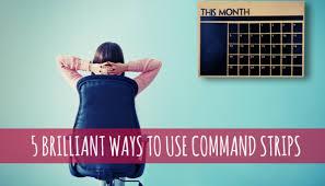 Command Strip Coat Rack Impressive 32 Surprisingly Brilliant Ways To Use Command Strips