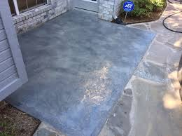 blue stained concrete patio. Concrete Patio Resurfacing And Staining - Addison, Texas Blue Stained R