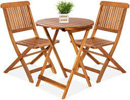 chairs round coffee table teak finish