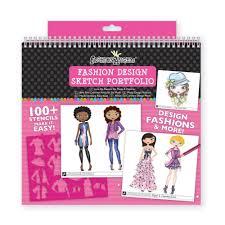 Fashion Angels Fashion Design Sketch Portfolio Printables B Wants This Drawing Kit Fashion Design Portfolio Fashion
