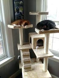 outdoor cat tower cat tree house cat tower and cat tree house with scratching post leopard outdoor cat