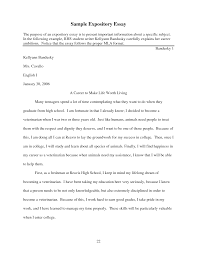 example of an expository essay v see more essay samples  cover letter expository essay example expository essays samples otoro dynbox college persuasive examplesexample of expository essay