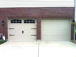 how much does it cost to install a garage door new garage door cost installed new how much