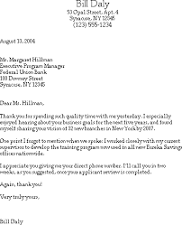 Sample Thank You Letter After A Job Interview For Trainee Career