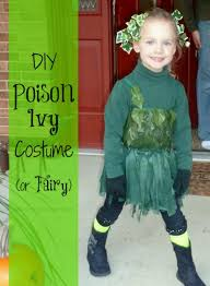 diy poison ivy or fairy costume