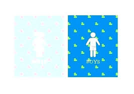 kids bathroom sign. Interesting Kids Bathroom Signs For Kids Wall Art  Little Girls Sign Bath Decor Girl Restroom Fish  On