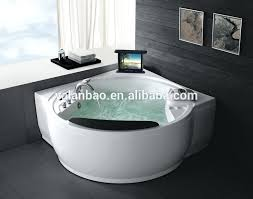 luxury indoor spa with pop up corner massage air bathtub for 2 person uk