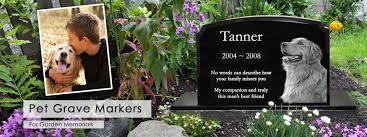 pet headstones pet grave markers pet