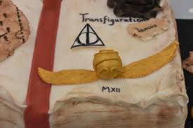 Harry Potter Spell Book Birthday Cake Phils Home Kitchen