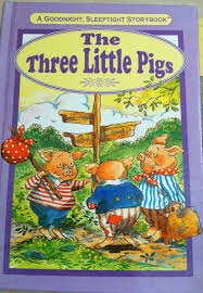 the three little pigs a good night sleep tight story book by grace