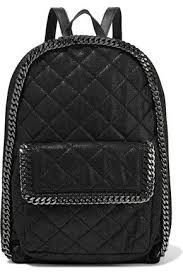 Quilted faux brushed-leather backpack | STELLA McCARTNEY | Sale up ... & STELLA McCARTNEY Quilted faux brushed-leather backpack ... Adamdwight.com