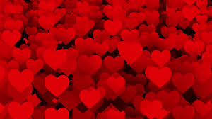 Abstract Red Hearts Background Stock Video Footage Storyblocks Video