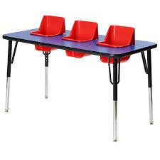 preschool table. Feeding Table - Three Seats Preschool U