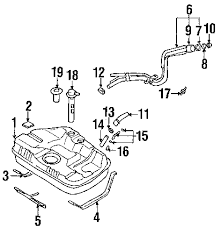 parts com® hyundai valve one way partnumber 310602d500 2001 hyundai elantra gls l4 2 0 liter gas fuel system components