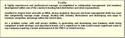 Cv Writing Examples Personal Profile How To Write Your Cv Showcasing Your Skills In Your Cv