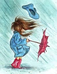 Image result for rain and umbrella