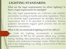 office lighting levels at work. lighting standards: office lighting levels at work v