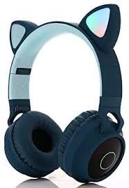 Moveski BT-028C Cute Cat Bluetooth 5.0 Headset ... - Amazon.com