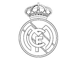 dibujo de escudo del real madrid c f