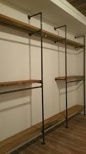 best 25 pipe closet ideas on closet organizers closet and open closets