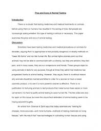 example of argumentative essay on animal testing view larger  animal testing essay example sample argumentative on the of 25 extraordinary resume example of