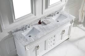 virtu usa victoria 72 double bathroom vanity set in white