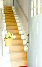painted stair treads best paint for sisal rug runner white with
